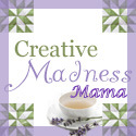 My Creative Madness Mama Button
